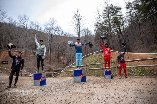 2021 Windrock Downhill Podium