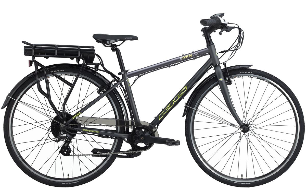 2022 KHS Bicycles Envoy 200 in Matte Dark Gray