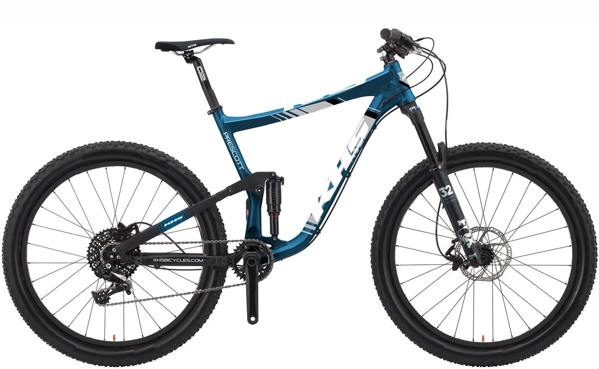 2022 KHS Bicycles Prescott in Metallic Blue