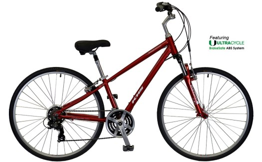 2022 KHS Bicycles Westwood in Chrome Red