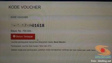 voucher bayar bank mandiri untuk pasca sarjana unair