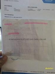 bukti tiket lion air via traveloka yang bermasalah di makasar 9 juli 2017