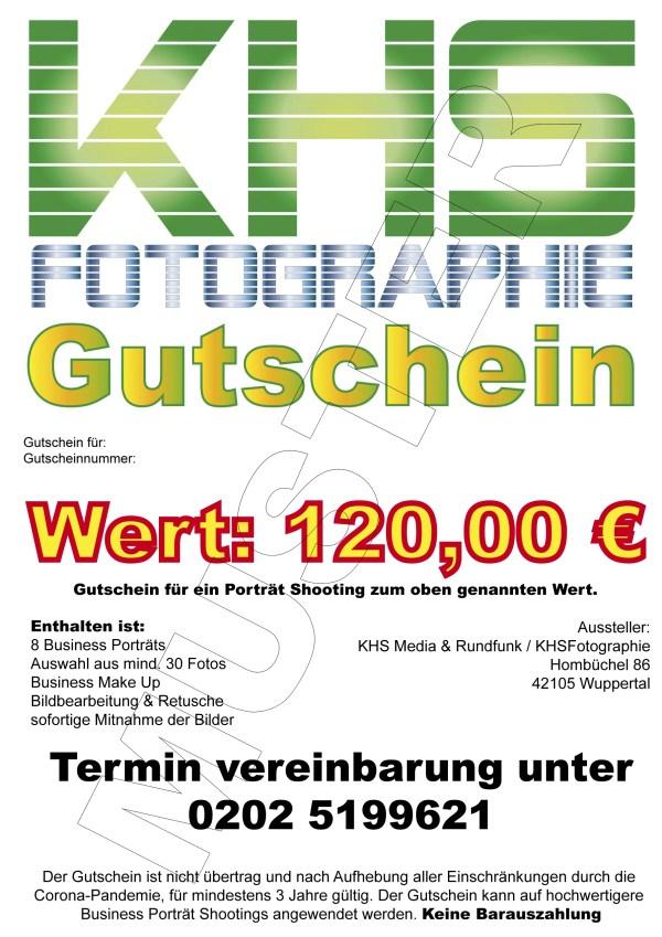Gutschein 120 EUR