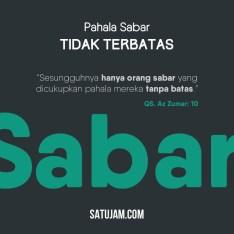 Pahala Sabar