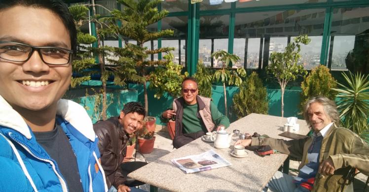 rooftop restaurant in thamel kathmandu