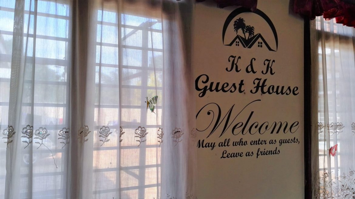 True words at the reception of K&K Guest House..jpg