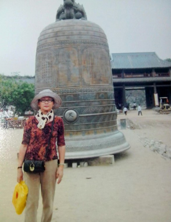 Chuông chùa Bái Đính