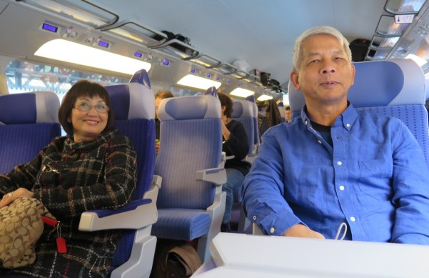 Train from Paris to Strasbourg - Nguyet, NDHoang
