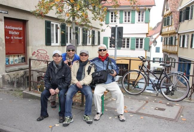 Mai 2015 - France, Germany, Budapest - Stuttgard - Luan, LCHoang, TDLoc, NDHoang