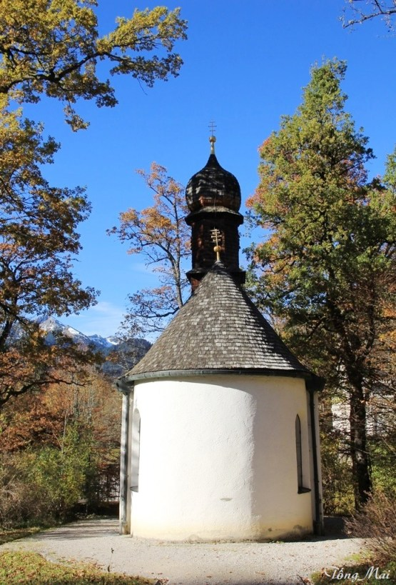 Linderhof - St. Ana Chapel. Photo: TongMai