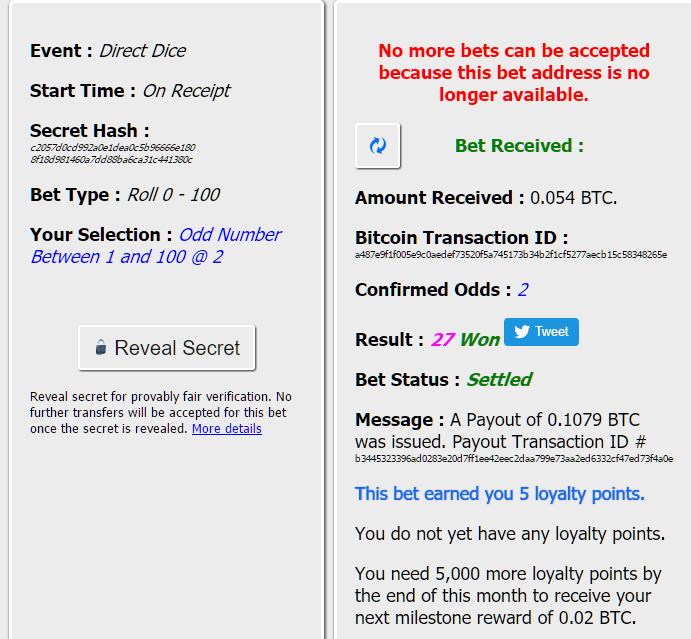 directbet-dice-betting