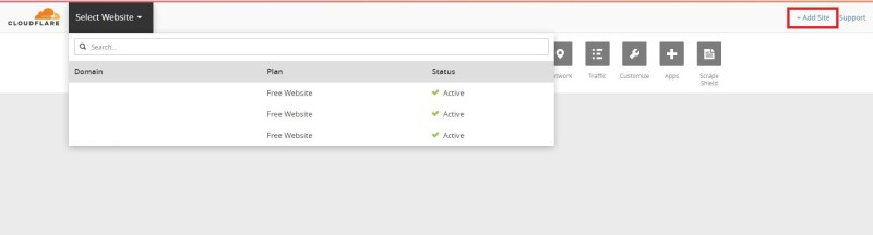 cloudflare_add_website