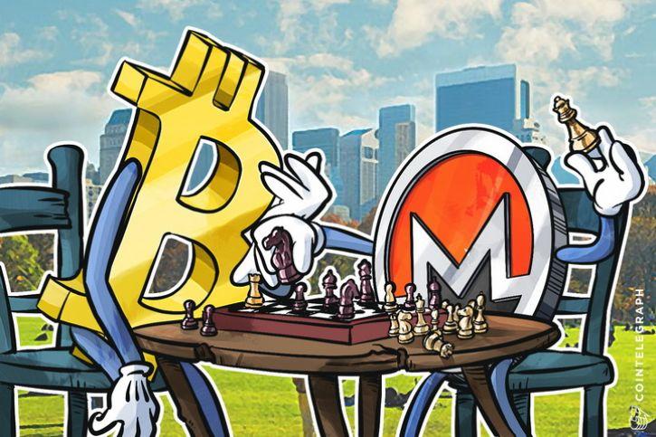 Monero and Bitcoin