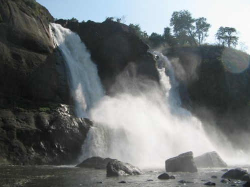 Athirappilly Falls in Kerala