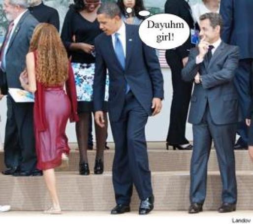 obama-checking-out-girl-g8
