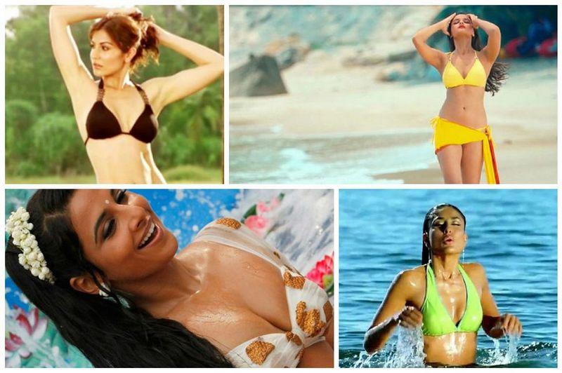 Bikini debut