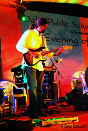 Agam's lead guitarist - T. Praveen Kumar