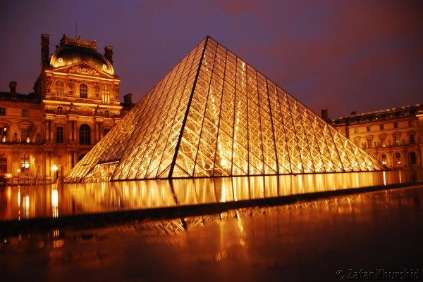 Louvre Night Musings Of Eclectic Soul