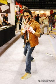 One of the many (but better) Wolverine cosplayers at the Con