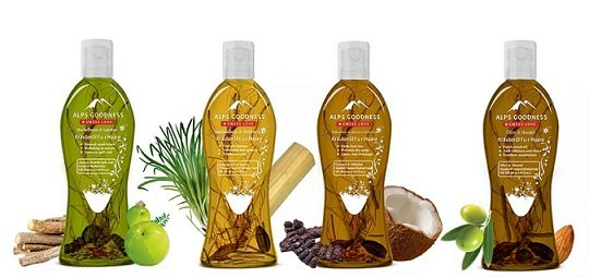 Alps Goodness Herbal Hair Oil Review