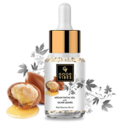 Good Vibes Argan Facial Oil with Silver Leaves