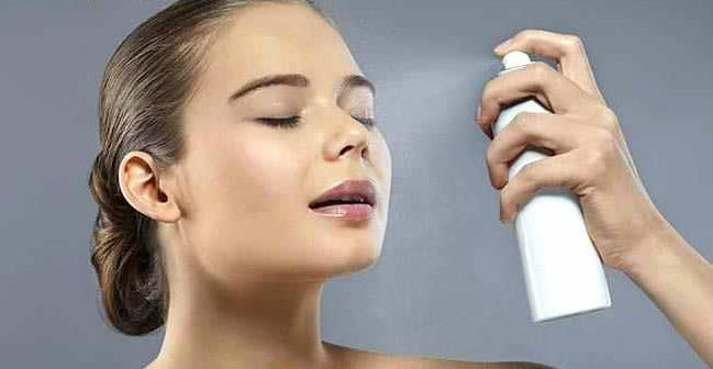 Using Makeup Setting Spray - How To Apply Sunscreen With Makeup