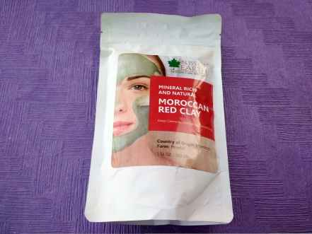 Bliss Of Earth Moroccan Red Clay Mask In Glamego Box March 2019