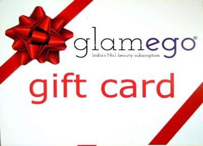 Gift Card In Glamego Box March 2019