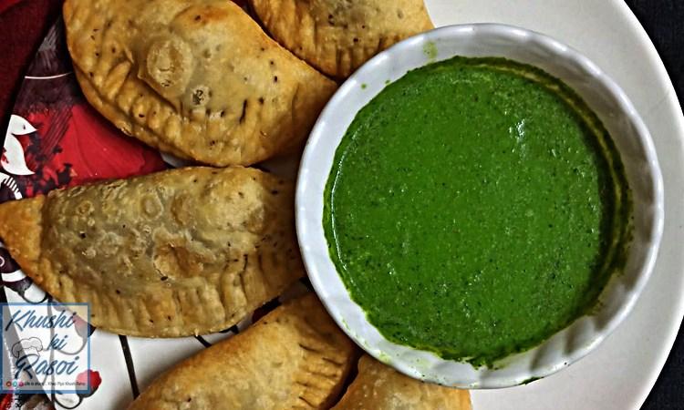 gujiya samposa hindi recipe