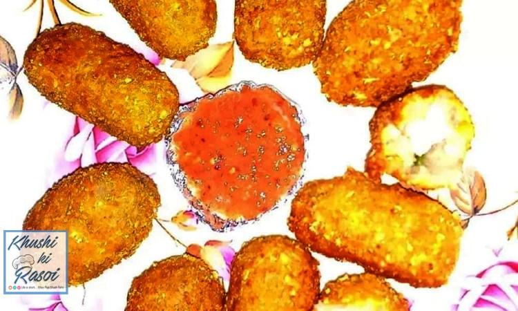 कॉर्नफ्लेक्स पनीर कटलेट रेसिपी | How to make Cornflakes Paneer Cutlet