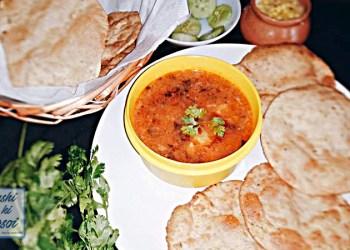 क्लब कचोरी पुरी आलू रस्से रेसिपी | Delicious Club Kachori and Aloo Rasse Recipe