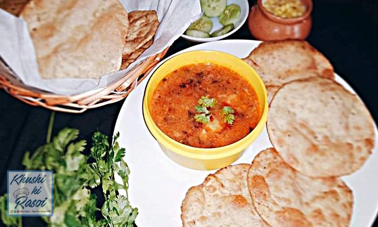 क्लब कचोरी पुरी आलू रस्से रेसिपी   Delicious Club Kachori and Aloo Rasse Recipe