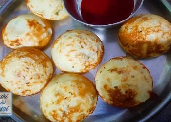 सूजी के अप्पे रेसिपी   How to Make Amazing Instant Rava ( Suji ) Appam