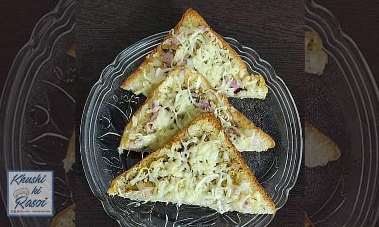 अनियन चीज़ टोस्ट रेसिपी   How to Make Delicious Cheesy Onion Toast