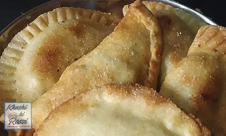 खस्ता गुजिया रेसिपी | How to Make Delicious Gujiya at home