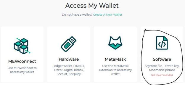 Myetherwallet এর ব্যবহার create wallet 3