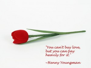 Pay Heavily For Love..