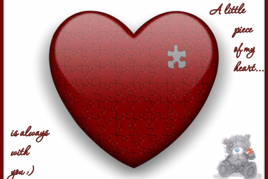 A little piece of my heart