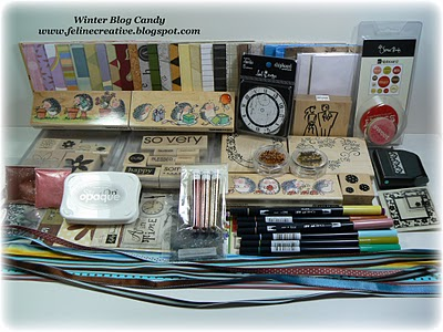 Karen's Winter Blog Candy Winter Blog Candy