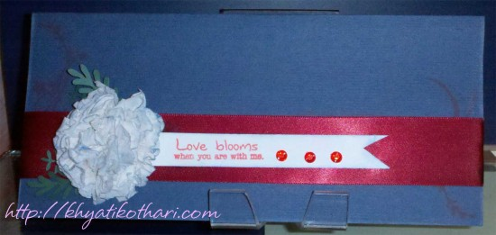 Love Blooms Front Card33