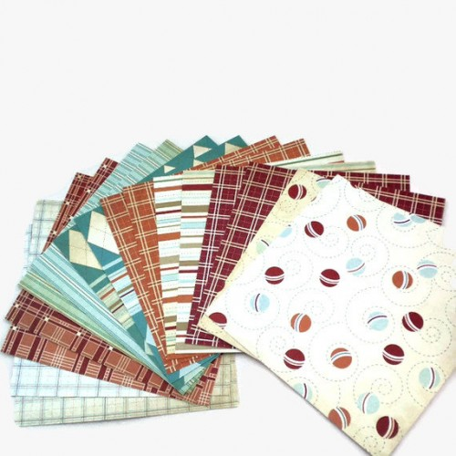 Shop n Splurge!!! Lil Man Collection 6x6 Paper Pack by Cosmo Cricket 16 Sheets