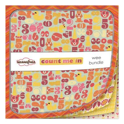 Shop n Splurge!!! Scrapbook Paper Count Me In Wee Bundle 6x6 paper pad by Sassafras Lass