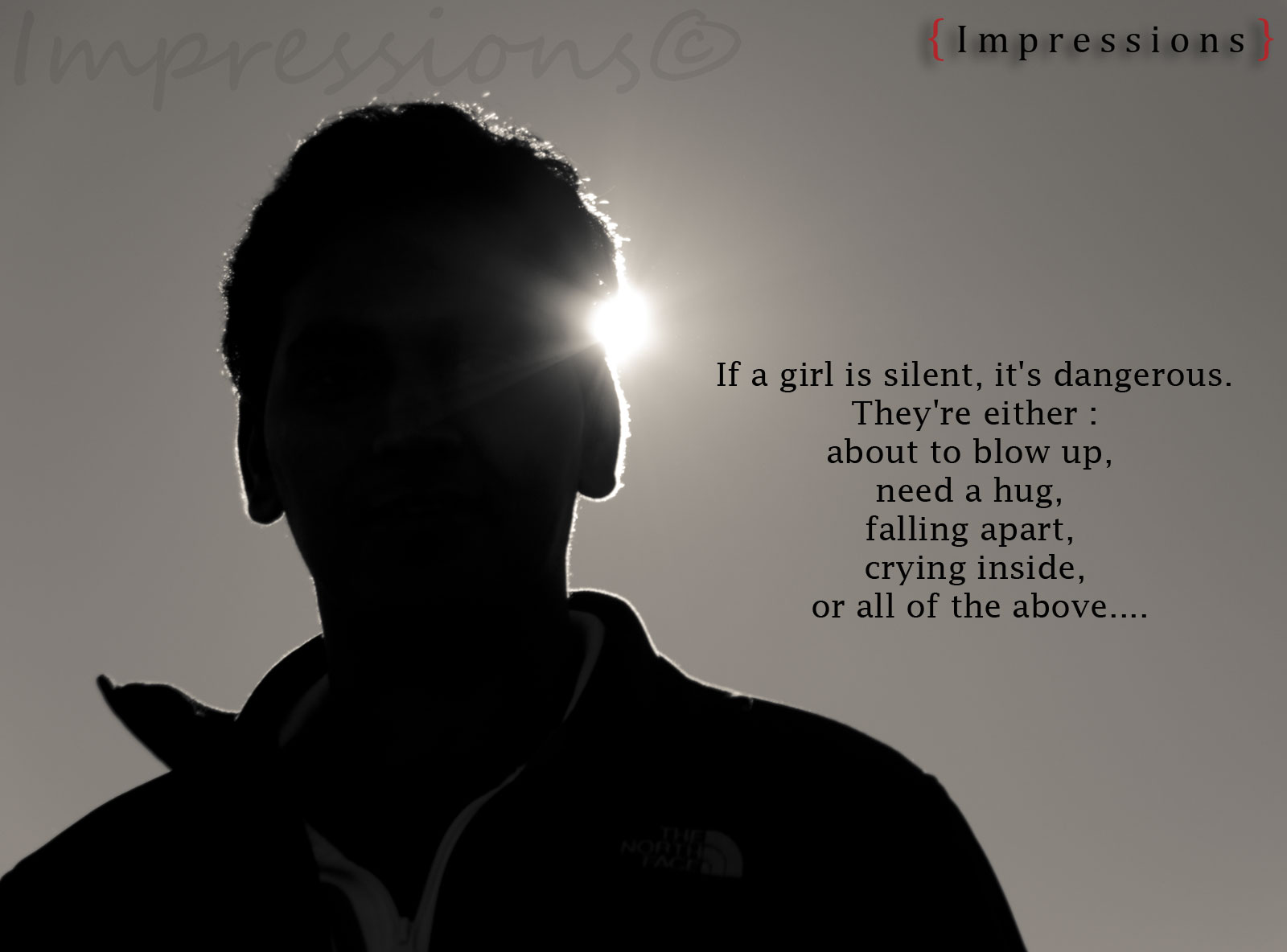 Girl With Attitude Quotes If A Girl Is Silent » Quotes » Khyati Kothari Diy