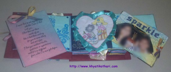 Some pictures of Valentines Day Album Scrapbook4 5
