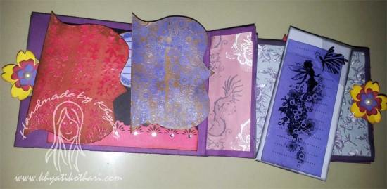 Another Paper Bag Mini Album Scrapbook6 6