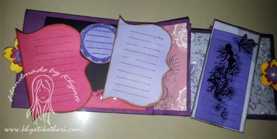 Another Paper Bag Mini Album Scrapbook6 7