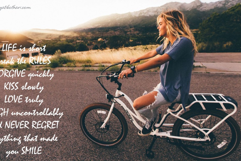 Life is short Inspirational 10 9 2015