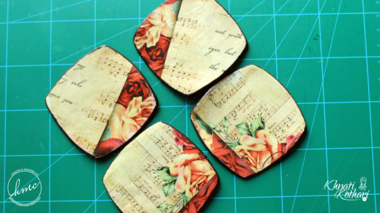 Make your own Clay coasters 1 2