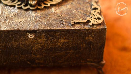 DIY Vintage treasure box 4