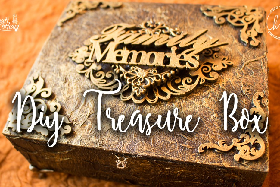 DIY Vintage treasure box cover